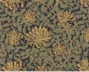 Reproductie quilt stof bloemen William Morris