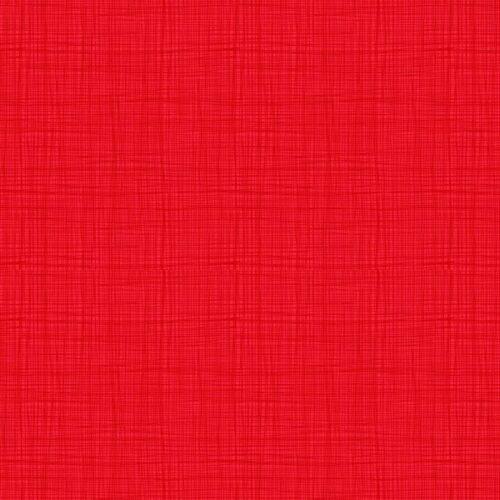 Linea texture 1525/R6 True Red Makower. Effen blauwe stof met geruit printje.Quiltstof, 100% katoen, 1.10m breed.