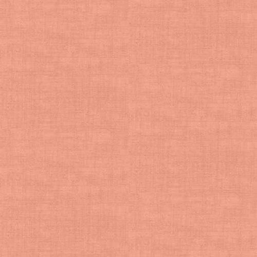 Pink 1473/P rose Linen Texture Makower.Effen rose stof in linnenlook. Quiltstof, 100% katoen, 1.10m breed of als fat quarter