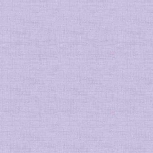 Liliac 1473/L2 Linen Texture. Effen lila stof in linnenlook. Quiltstof, 100% katoen, 1.10m breed of als fat quarter