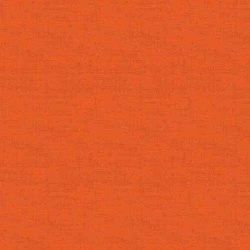 Tomato 1473/N8 Linen Texture Makower. Effen rode stof in linnenlook.Quiltstof, 100% katoen, 1.10m breed.