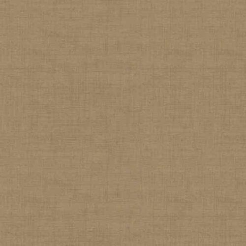 Hessian 1473/V Linen Texture. Effen bruine stof in linnenlook.Quiltstof, 100% katoen, 1.10m breed of als fat quarter.