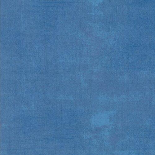 Effen quiltstof marineblauw, 100% katoen Grunge