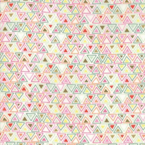 veelkleurige moderne quilt stof met blokjesmotief uit de Moda-collectie Meraki, ontworpen door Basic Grey. Ook als fat quarter, online bij quiltkompas