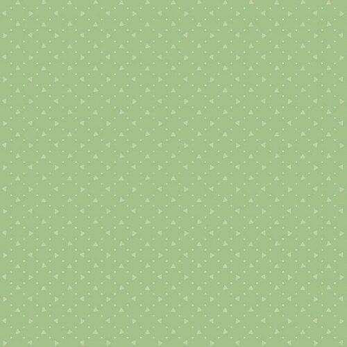 Bijna effen groene quiltstof, Bijoux 8704G Pyramid Wintermint, van Makower.