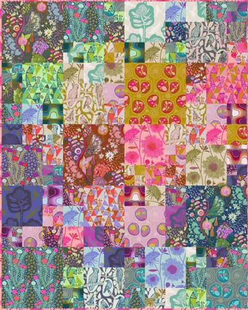 Een (gratis) ontwerp quilt patroon van Anna Maria Horner voor de collectie Sweet Dreams.