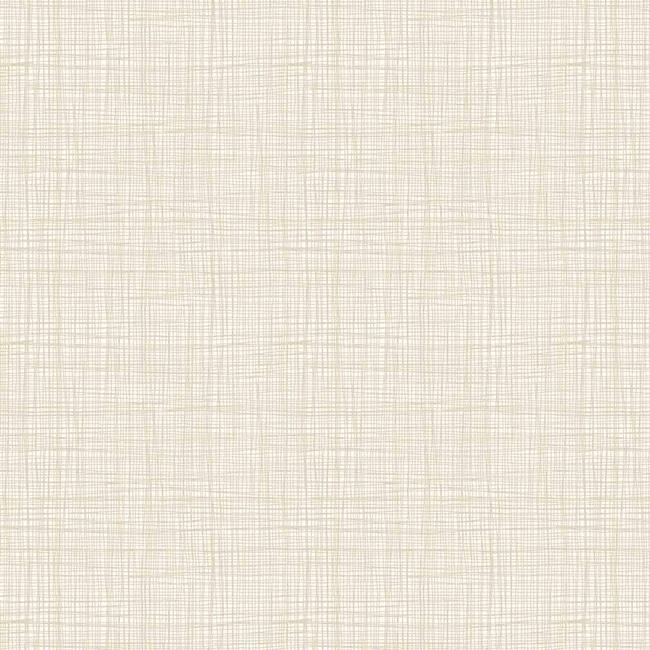 1525/Q Cream Linea Texture. Makower. Effen, cremekleurige stof met linnen texture.Quiltstof, 100% katoen, 1.10m breed.