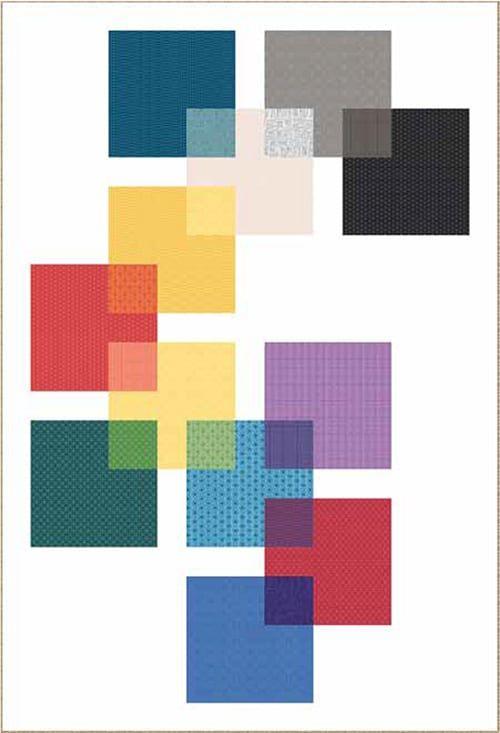 Patroon Swatch Quilt van Andover. quilt stof