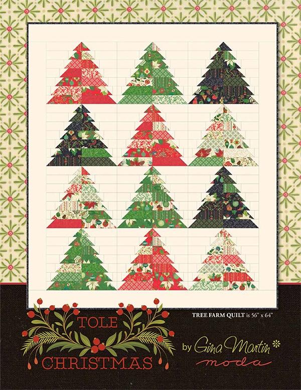 Kerst Quilt Patronen.Patroon Kerstquilt Tole Quiltkompas