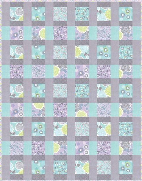 Gratis quilt patroon ontworpen door Stephanie Ryan voor Moda.