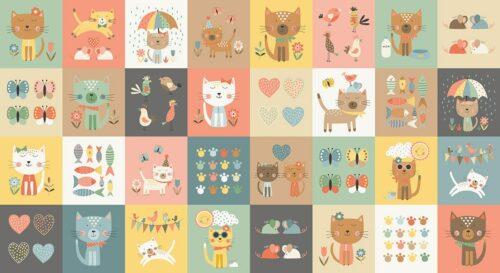 2186_1_blocks Makower Cool Cats