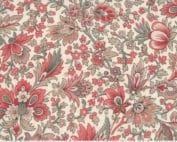 Chafarcani Pearl 13860 12 French General rood klassiek grote bloemen