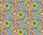 Modern quilt stof Anna Maria Horner multi-colour slierten