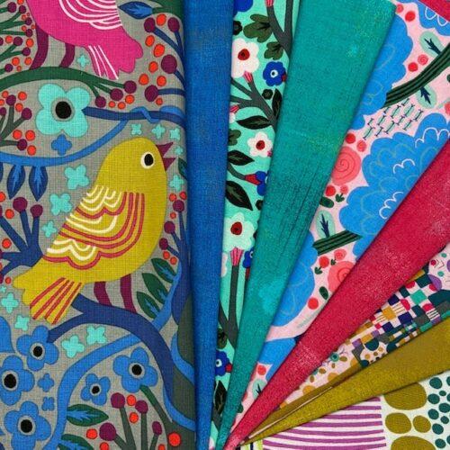stoffen van Monika Forsberg uit de ontwerpgroep Anna Maria Horner Conservatory.
