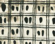 Collectie Art History 101, Windham Fabrics, ontworpen door Marcia Derse. Moderne quiltstof in zwart-wit met stippen en blokken.
