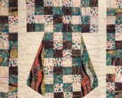 kimono rhapsody quilt patroon gustavklimt