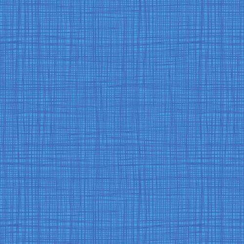 Bijna effen blauwe quilt stof