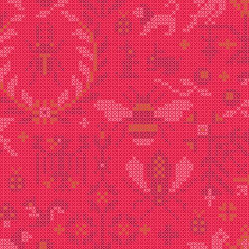 Moderne quilt stof sun prints Alison glass