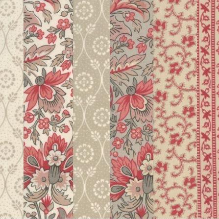 Chafarcani french general klassieke quilt stof