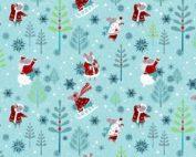 quilt stof feestdagen kerst kinderen