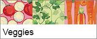 Martha Negley groenten, vrolijke kleuren