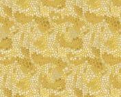 Moderne gele quilt stof met grafisch mozaïek motief. Ontwerp van Dena Designs - Adelaide Grove. Quiltstof, 100% katoen, 1.10m breed.