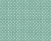 modern groen blauw stippen quiltstof