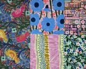5 stoffen van Monika Forsberg uit de ontwerpgroep Anna Maria Horner Conservatory.